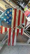 Punisher Red White And Blue 18 Wall Art. Cnc Plasma Metal Decor