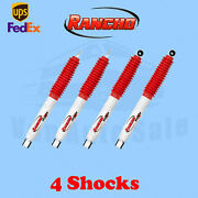 Rancho Rs5000x Frontandrear 0 Lift Shocks For Ford F-250 Superduty 4wd 05-14 Kit4