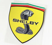 4.73x3.94 Inch Ford Mustang Shelby Svt Cobra Snake Decals Stickers Emblems