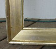 C1840 Beautiful Large Early American Sully Gilded Antique Flag Mirror 16 X 28 Fr