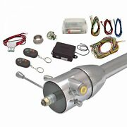 Yellow / Amber One Touch Engine Start Kit W/column Insert And Remote Street