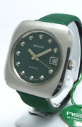 Record Ss 1970's Automatic Winding Caliber Fb1955-2 Case 39mm × 35.5mm