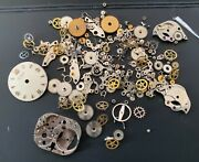 Universal Geneve Cal. 500 501 Lot Lote Parts Lot Vintage Hand Manual Watch