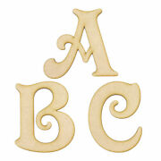 Victorian Font Wooden 3mm Mdf Words Letters Numbers Alphabet Home Nursery Craft