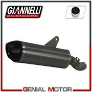 Full Exhaust System Giannelli Tit Muffler + Catal For Bmw R 1200 Gs 2013 2016