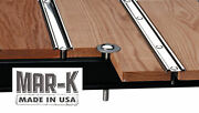 Chevrolet Chevy Pickup Truck Wood Bed Kit Oak Polished Stainless Strip 1940-1945