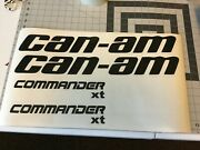 Can-am Commander Replacements Decal 2@ 2 Tall X 14 Long And2 @ 1 X 11