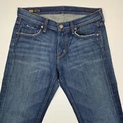Menand039s Citizens Of Humanity Size 30 Jagger Boot Cut Zip Fly 609 Blue Denim Jean
