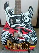 Pittsburgh Pirates League Baseball Fender Stratocasters Guitar Autographed
