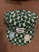 Ships Today Michigan State University Spartan Msu Hat Ncaa College Ball Cap Nwt