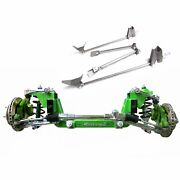 Independent Front Suspension Fits Ford 1928-47 Mustang Ii 2 Ifs And Rear 4 Bar Kit