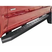 Raptor Style Running Boards Compatible 2007-2018 Sierra 1500 2500 3500 Crew Cab