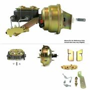 1960-62 Chevy Truck Fw Mount Power 11 Dual Brake Booster Kit Ls Disc/drum Stop