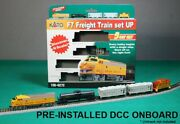 Kato N Scale F7 Freight Train Set Union Pacific W/ Ready To Run Dcc 106-6272dcc