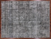 Overdyed Hand Knotted Rug 9' 6 X 12' 7 - Q2430