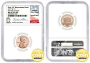 2019 W Uncirculated Lincoln Cent Proof Like Ngc Ms67 Pl Rd Fdoi Lyndall Bass