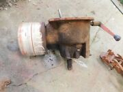 Allis-chalmers D10 Tractor Pto Assembly W/ Belt Pulley Complete Tag 700