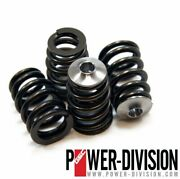 Gsc Turbo Vq35de Vq35hr Beehive Valve Spring Set With Ti Retainer Gsc5053