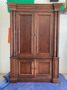 Broyhill Charlestowne Square Armoire/media Cabinet