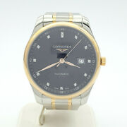 Genuine Menand039s Longines Watch Master Collection 18ct Rose Gold Automatic Watch
