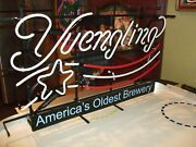 New Yuengling Lager Us Flag America's Oldest Brewery Neon Light Sign 24x20