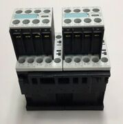 Siemens 3ra1316-8xb30-1bb4 Compact Starter With 2 3rh1911-1ha22 Aux Contacts