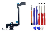Oem Charger Charging Port Dock Flex Cable Mic Replacement Iphone Xs Black Kit