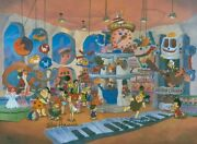 Hanna And Barbera Fao Quartz From The Flinstones Hand-painted Limited Edition Cel