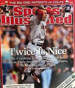 Boston Red Sox Sports Illustrated 2007 World Series