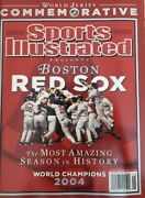 2004 Sports Illustrated Boston Red Sox Commemorative Issue Gem Mint No Label