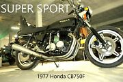 1977 Honda Cb750 Super Sport Japan Motorcycle Bike Parting Out Make Offers.