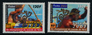 French Polynesia 821-2 Mnh World Outrigger Canoe Championships