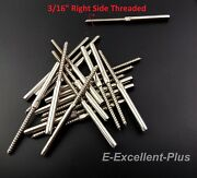 T316 Stainless Steel Swage Lag Screw Stud Right Threaded For 3/16 Cable Railing