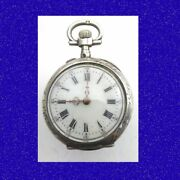Mint Vintage 2-colour Gold And Silver 15 Jewel Longines Pocket Watch 1890