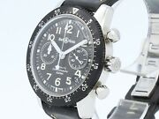 Bell Ross Classic Pilot Chronograph Automatic Steel 520 S