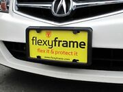 Rubber License Plate Holder Mounting Adapter Bumper Tag Bracket Frame For Acura