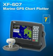 Xinuo 7 Inch Color Lcd Marine Gps Chart Plotter Xf-607 New