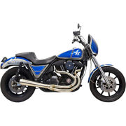 Bassani Road Rage 3-step Stainless Exhaust For Harley Fxr Models