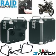 Side Sacoches Cases Boandicirctes 41 + 47 Lt Rapide Release Triumph 800 Tiger Xc And03911/13