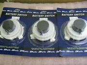 Charles Marine 93-bs001-a Marine Battery On/off Switch-lot Of 3