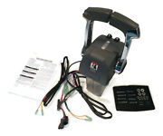 Remote Throttle Control Dual Lever For Johnson And Evinrude 5006184 Boat Engines