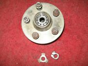 1956 1957 1958 1959 Mercedes Benz 220s W180 Front Hub With Lug Nuts And Bearings