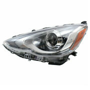 For 15-17 Prius C Front Projector Headlight Headlamp Led Head Light Driver Side