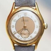 Frenca 2718 Two Tone Dial Automatic Cal.b20 Vintage Watch 1950's Overhauled