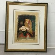 Serigraph Chiaroscuro By Roy Fairchild Deluxe Editionandnbsp 293/385 Framed