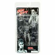 Rosario Dawson Autographed Neca Sin City Gail Black And White 7 Action Figure