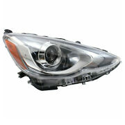 Capa For 15-17 Prius C Front Projector Headlight Headlamp Led Head Right Side