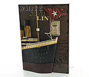 Rms Titanic Ocean Liner Bow 3d Metal Model Painting 28 White Star Cruise Ship