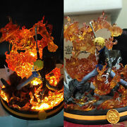 One Piece Sabo Statue With Led Light Painted Sculpture Jz Recast Collection Gk