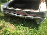 1968 Chrysler 300 Rear Taillight Tail Panel Inner And Outer Solid Original Trunk